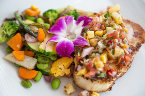 Simply Grilled KW Yellowtail Snapper